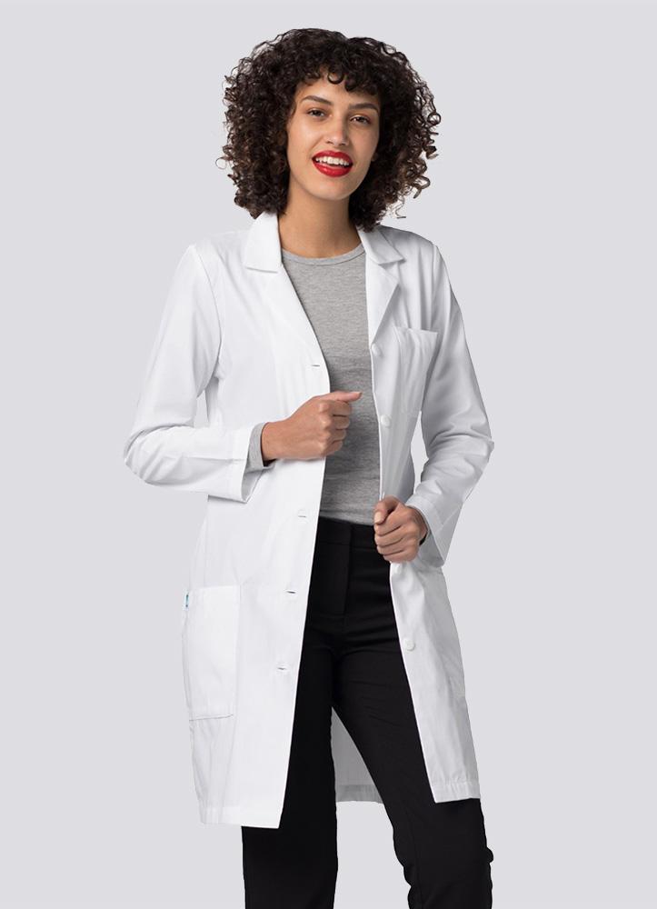 """36"""" Women's Slim-Fit Lab Coat"""