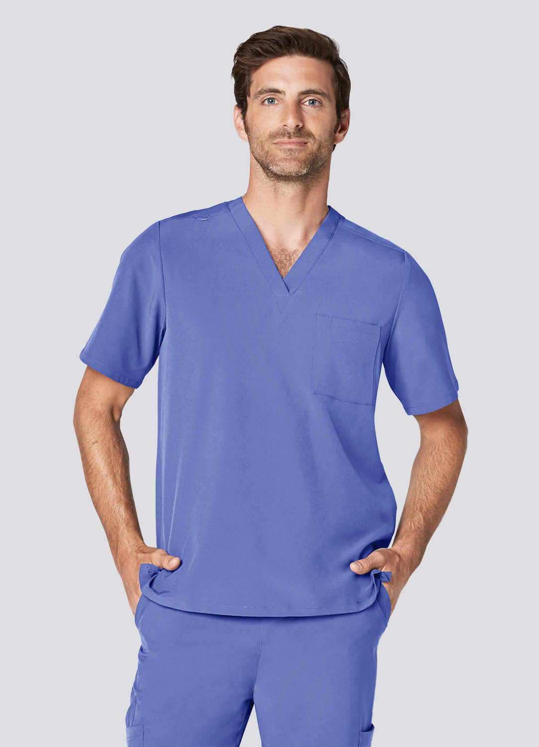 Men's Classic V-Neck Top