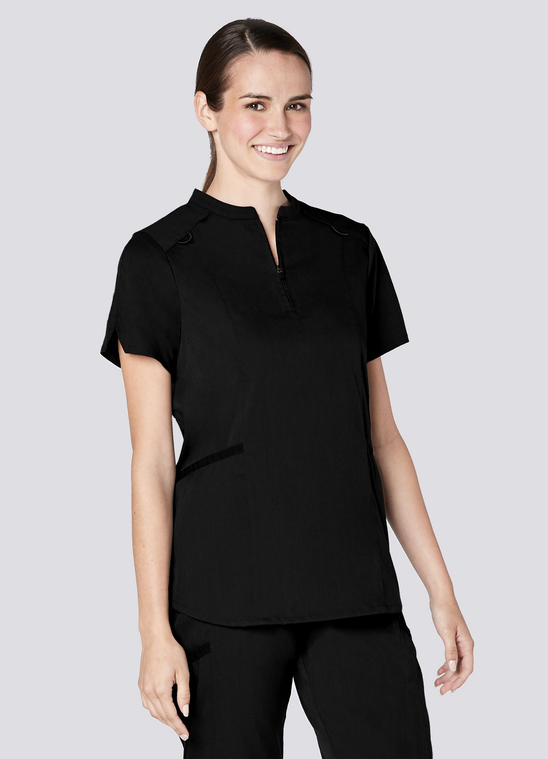 Active Stand Collar Top