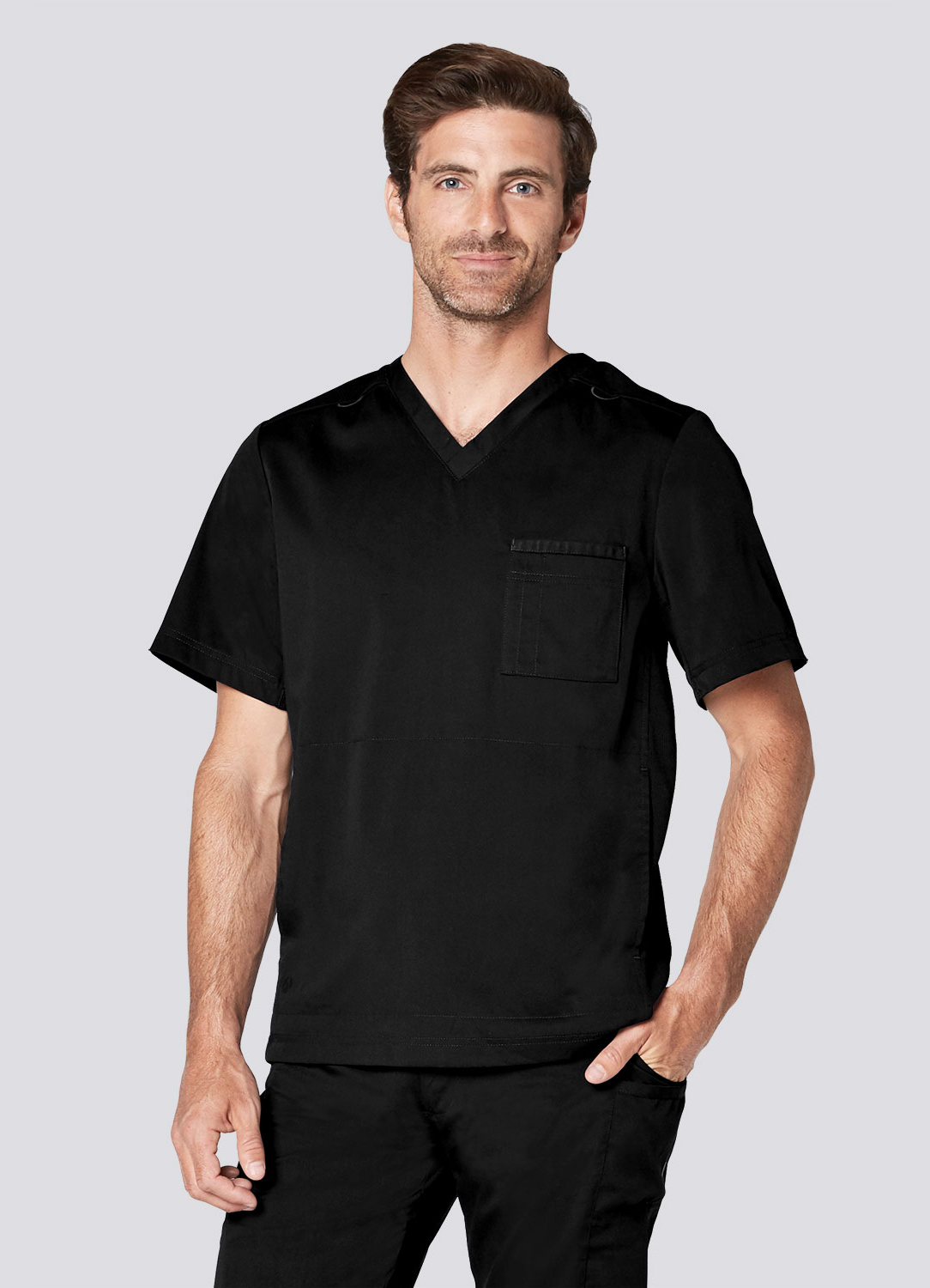 Men's Active V-Neck Top