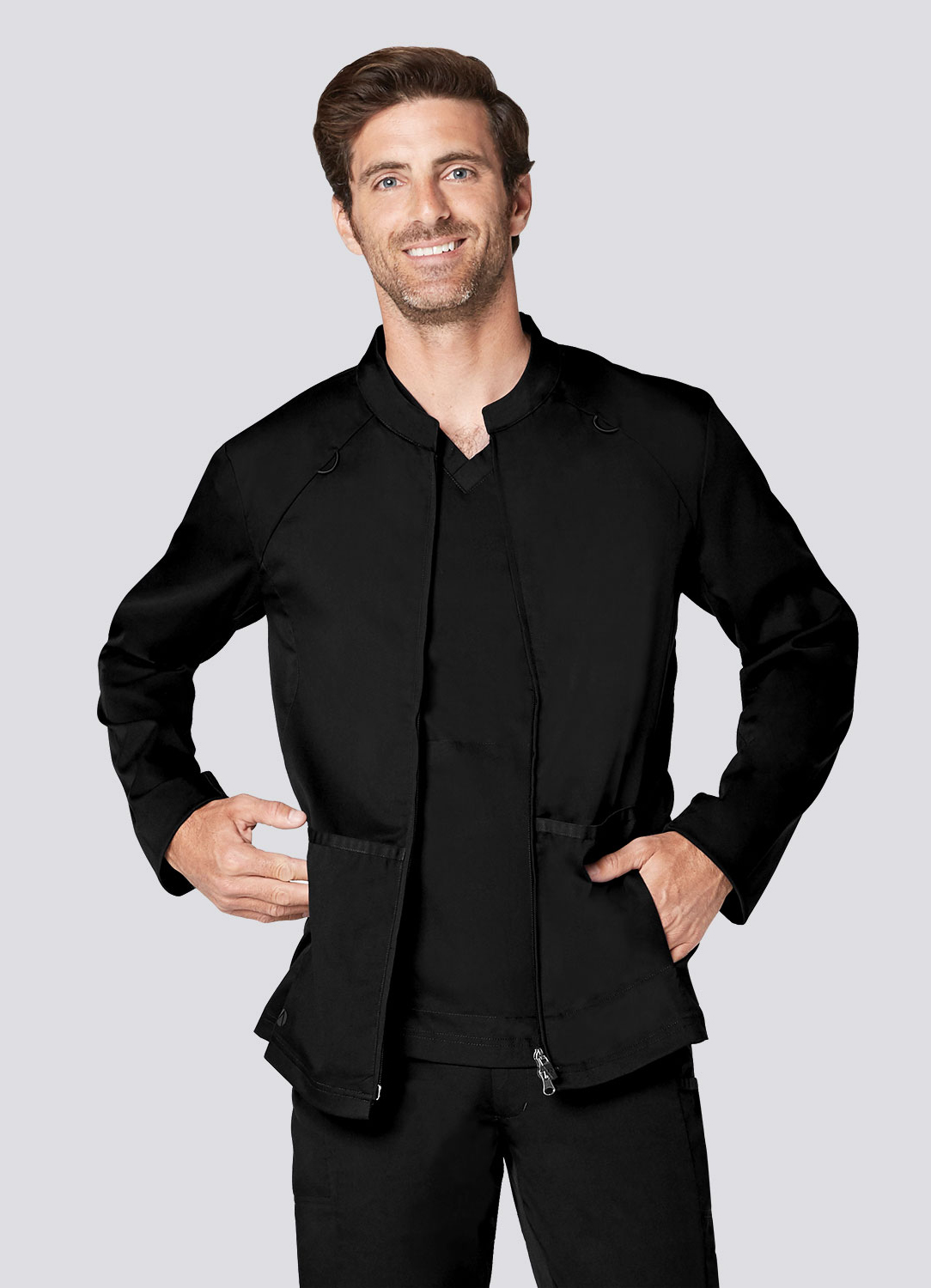 Men's Zip Front Active Jacket